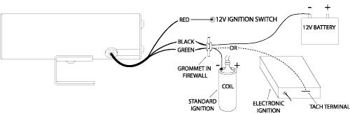 figure11 how to install a shift light my pro street auto meter shift light wiring diagram at crackthecode.co