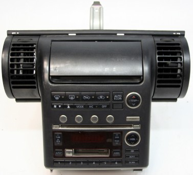 The 2003-2004 G35 stereo