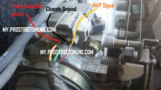 how to service accord map sensor1 dtc p1129 how to service an accord map sensor honda map sensor wiring diagram at crackthecode.co