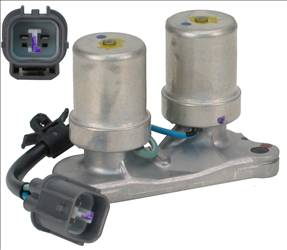 To Access The Wiring Connectors Your Honda Civic Shift Solenoid However You Must First Unplug Upstream Oxygen Sensor And Coolant Temperature