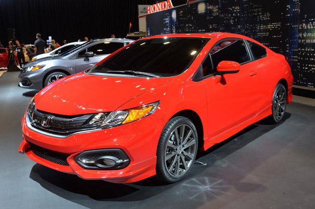 The new 2014 Honda Civic SI at SEMA - Image Courtesy Autoblog