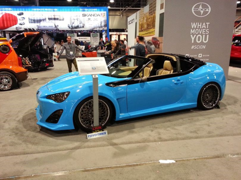 The Targa Top Looks Like Scion Built It From Factory And Color Combination Is Stunning Unfortunately Hood Was Closed On Fr S When We Were