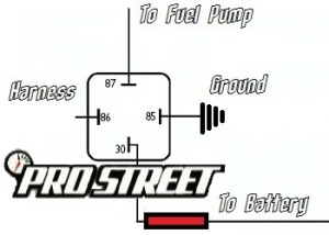 how to rewire fuel pump with a relay my pro street rh my prostreetonline com
