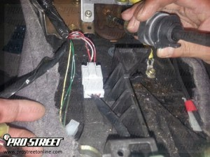 How To Adjust a Honda shift cable