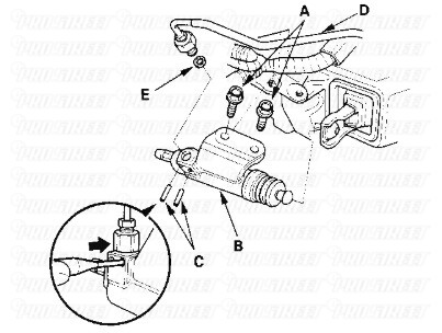how-to-change-acura-rsx-slave-cylinder-4