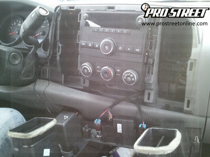 How To Install a GMC Sierra Radio My Pro Street