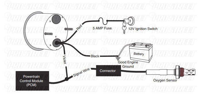 How To Install a Honda Civic Air Fuel Gauge - My Pro Street D Y Fuel Injector Wiring Diagram on