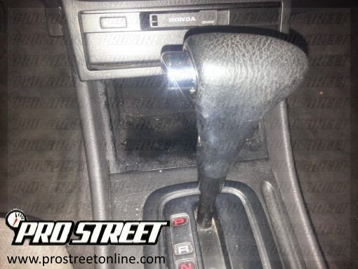 How To Service a Honda Accord Shift Interlock