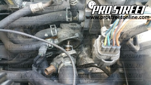 How To Replace A Honda Civic Thermostat My Pro Streetrhmyprostreetonline: 2002 Honda Civic Thermostat Location At Gmaili.net