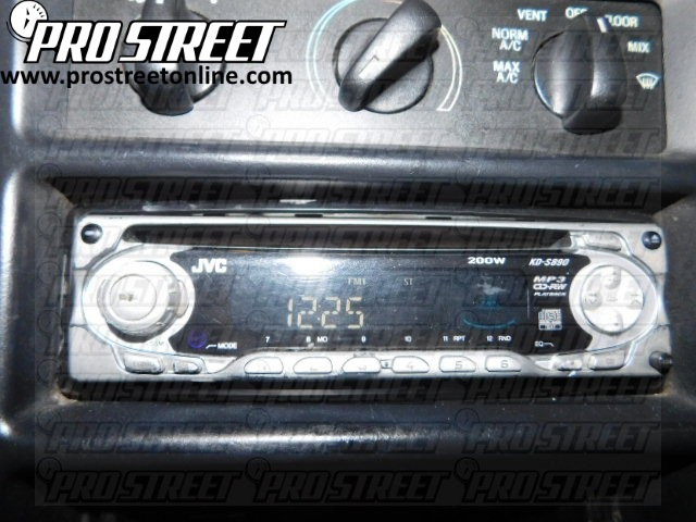 1995 Ford Mustang Stereo Wiring Diagram how to ford mustang stereo wiring diagram my pro street 1999 mustang wiring diagram at bayanpartner.co