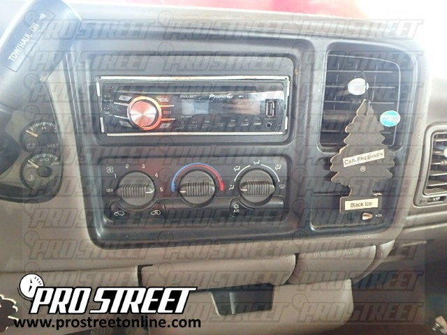 how to chevy silverado stereo wiring diagram  my pro street - pro street online