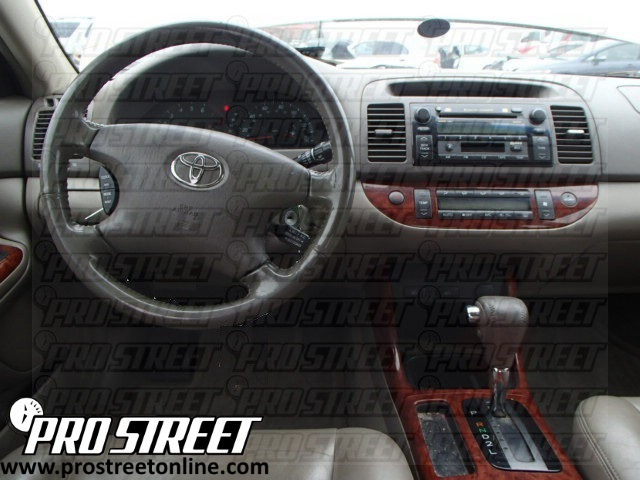 how to toyota camry stereo wiring diagram my pro street. Black Bedroom Furniture Sets. Home Design Ideas