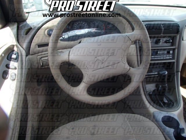 2003 Ford Mustang Stereo Wiring Diagram how to ford mustang stereo wiring diagram my pro street 2004 ford mustang radio wiring diagram at crackthecode.co