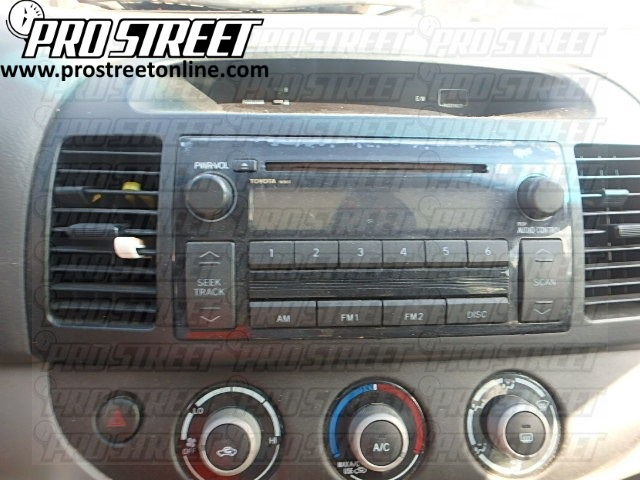 How To Toyota Camry Stereo Wiring Diagram - My Pro Street