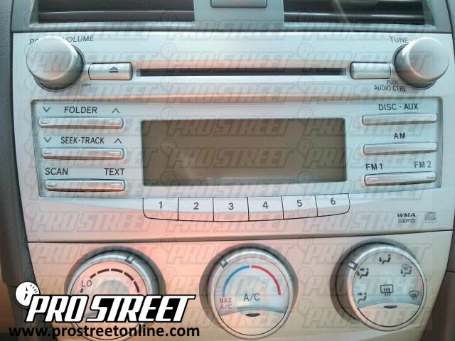 2007 Toyota Camry Radio Wiring Diagram - WIRE Center •