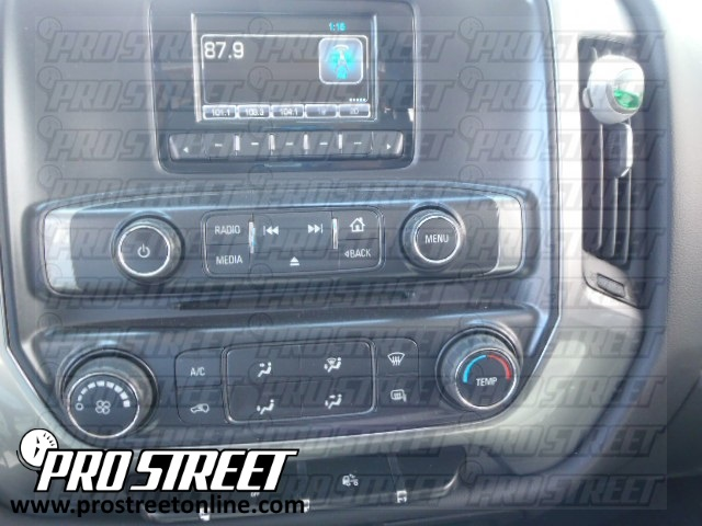 how to chevy silverado stereo wiring diagram 2011 Silverado Radio Wiring Diagram