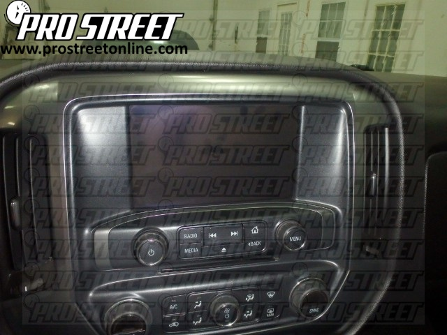 how to chevy silverado stereo wiring diagram rh my prostreetonline com 2014 Silverado Harness Diagram 08 Chevy Silverado Wiring Diagram