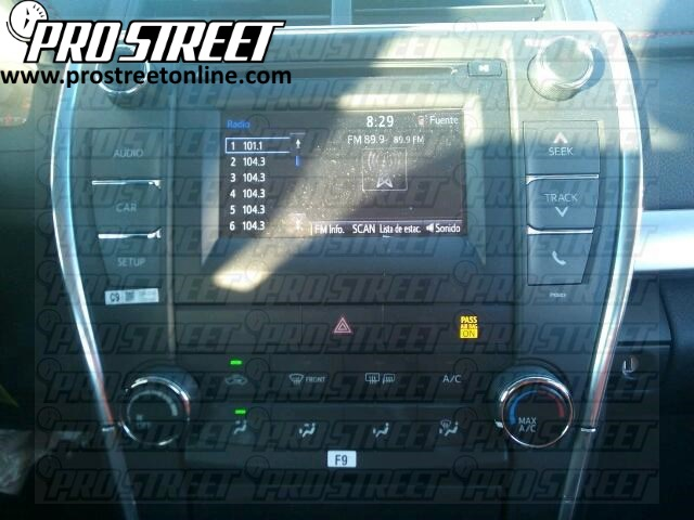 2015 Toyota Camry Stereo Wiring Diagram 1 how to toyota camry stereo wiring diagram my pro street  at gsmx.co