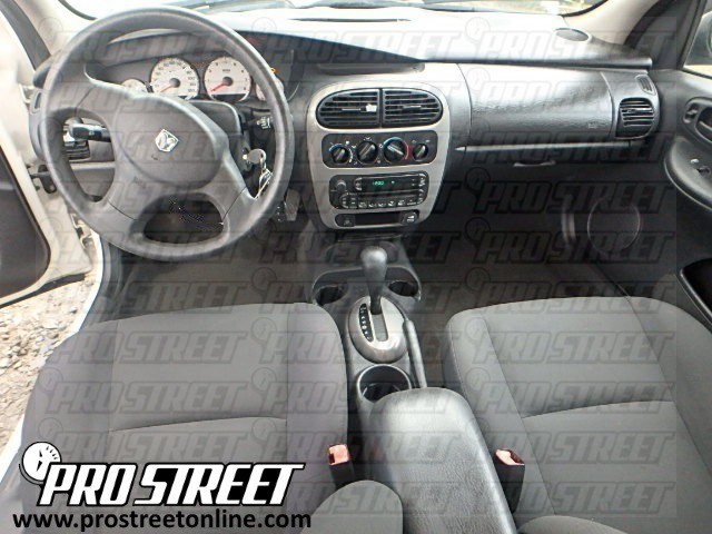 how to dodge neon stereo wiring diagram my pro street rh my prostreetonline com 2003 Dodge Neon Transmission Mount 2001 Dodge Neon Repair