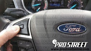 How To Test a Ford Fusion Throttle Body 11