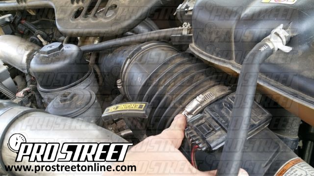 Test your Ford Excursion MAF Sensor 1