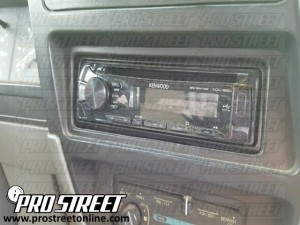how to ford ranger stereo wiring diagram my pro street rh my prostreetonline com 1990 ford ranger radio wiring diagram