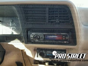 how to ford ranger stereo wiring diagram my pro street 1992 Ford Ranger Stereo Wiring Diagram 1994 ford ranger stereo wiring diagram