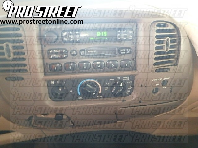 how to ford f150 stereo wiring diagram my pro street rh my prostreetonline com 1997 Ford F-150 Wiring Diagram 1997 ford f150 radio wire diagram