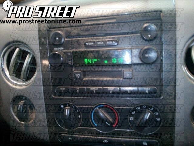 how to ford f150 stereo wiring diagram my pro street rh my prostreetonline com 04 f150 stereo wiring diagram 04 f150 radio wiring diagram