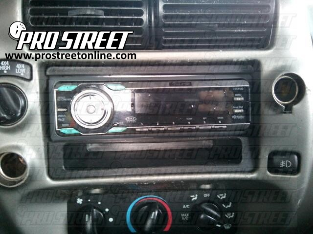How To Ford Ranger Stereo Wiring Diagram - My Pro Street | 99 Ranger Radio Wiring Diagram |  | My Pro Street - Pro Street Online