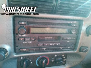 2006 Ford Ranger Stereo Wiring Diagram