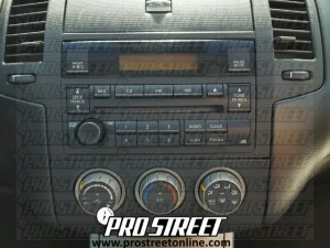 nissan altima stereo wiring how to nissan altima stereo wiring diagram - my pro street