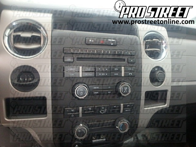2011 F150 Stereo Wiring Diagram how to ford f150 stereo wiring diagram my pro street ford f150 radio wiring diagram at creativeand.co