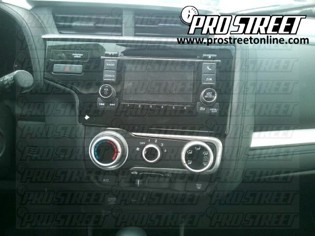 Honda Fit Stereo Wiring Diagram My Pro Street