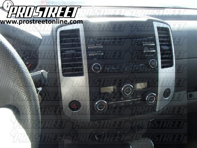 2012 Nissan Frontier Stereo wiring diagram how to nissan frontier stereo wiring diagram my pro street  at n-0.co