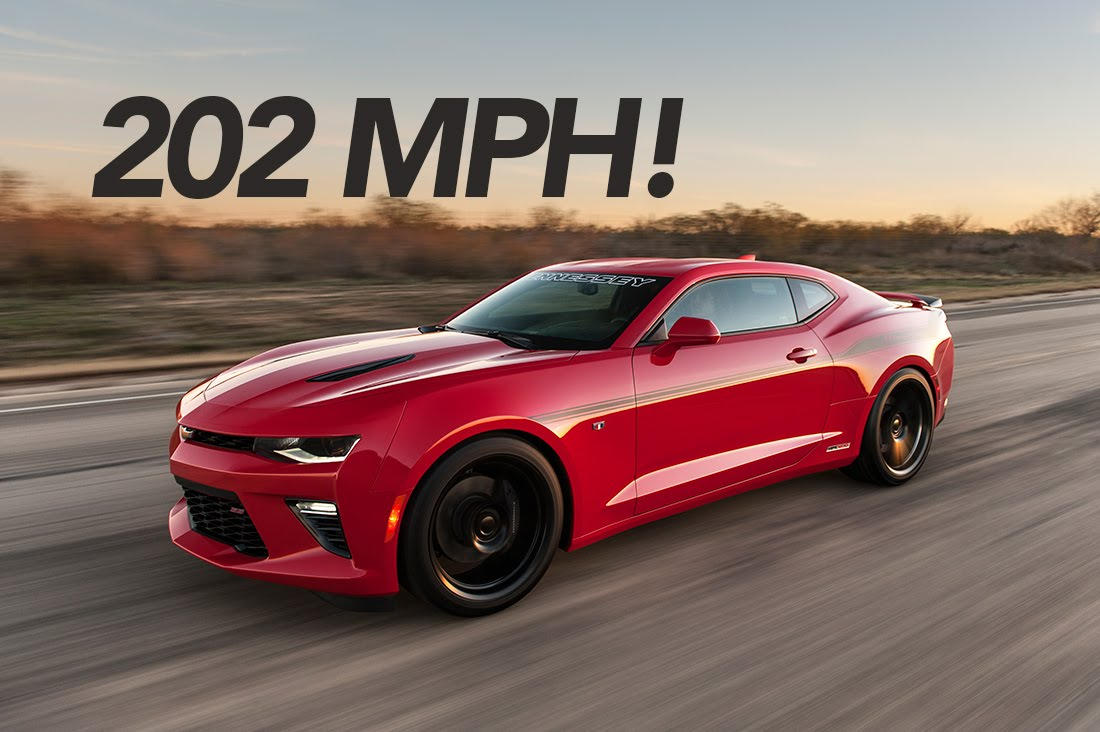 2016 Hennessey Camaro Goes 200+ MPH!