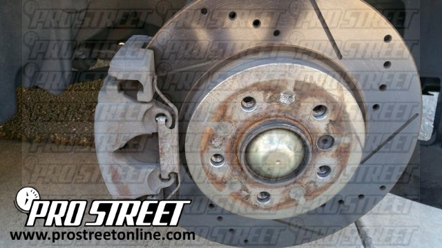 Change your BMW 330i front brakes