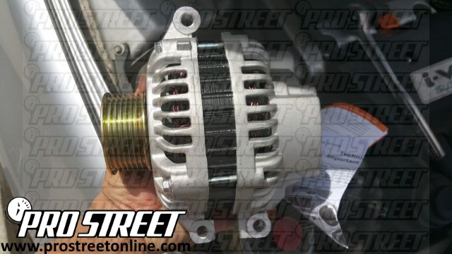 How to Replace Acura RSX alternator 8