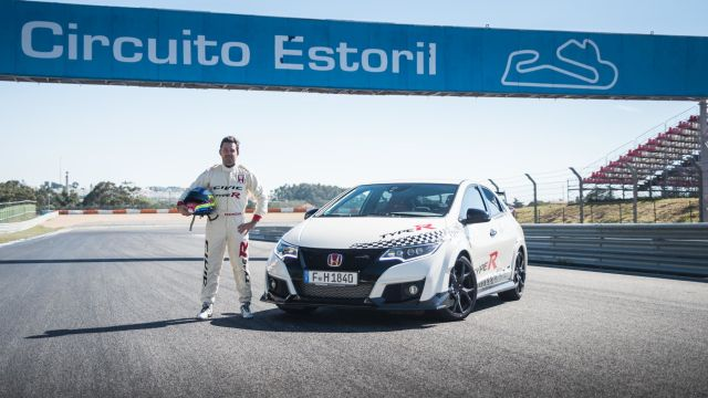 Honda Civic Type R sets new benchmark time at Estoril with WTCC