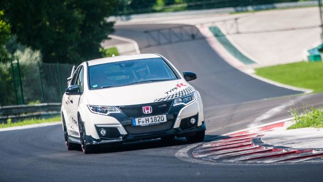 Honda Civic Type R sets new benchmark time at Hungaroring with H
