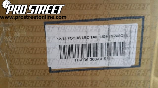 How To Install Ford Focus Taillights
