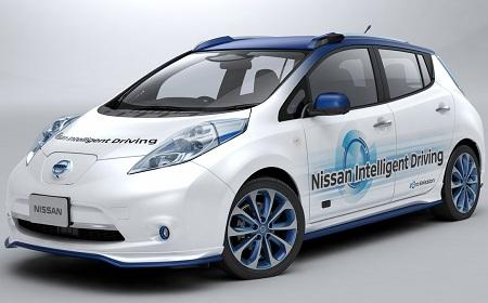 Nissan Self Driving Technology 11