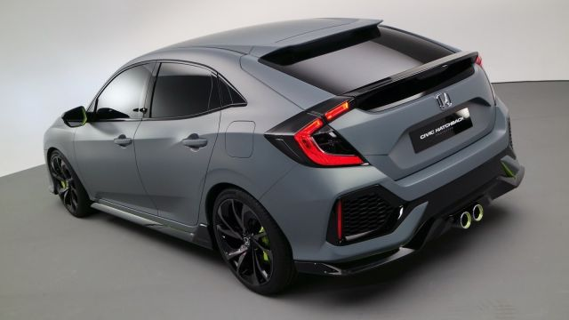 2017 Honda Civic Hatchback 12