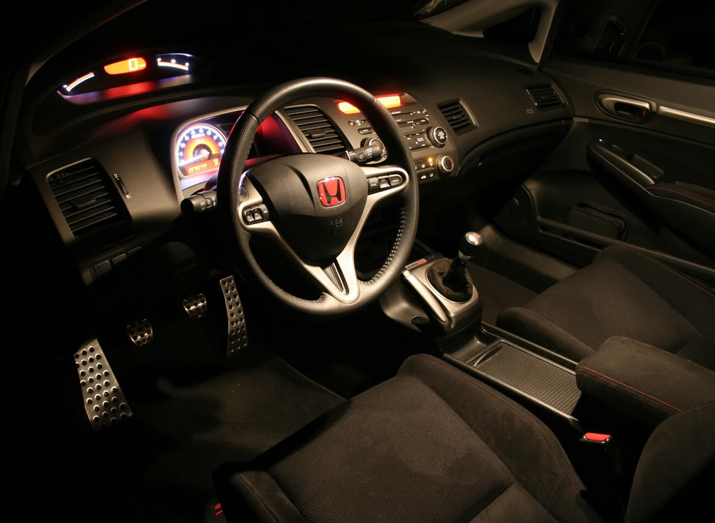 Honda Civic interior mods