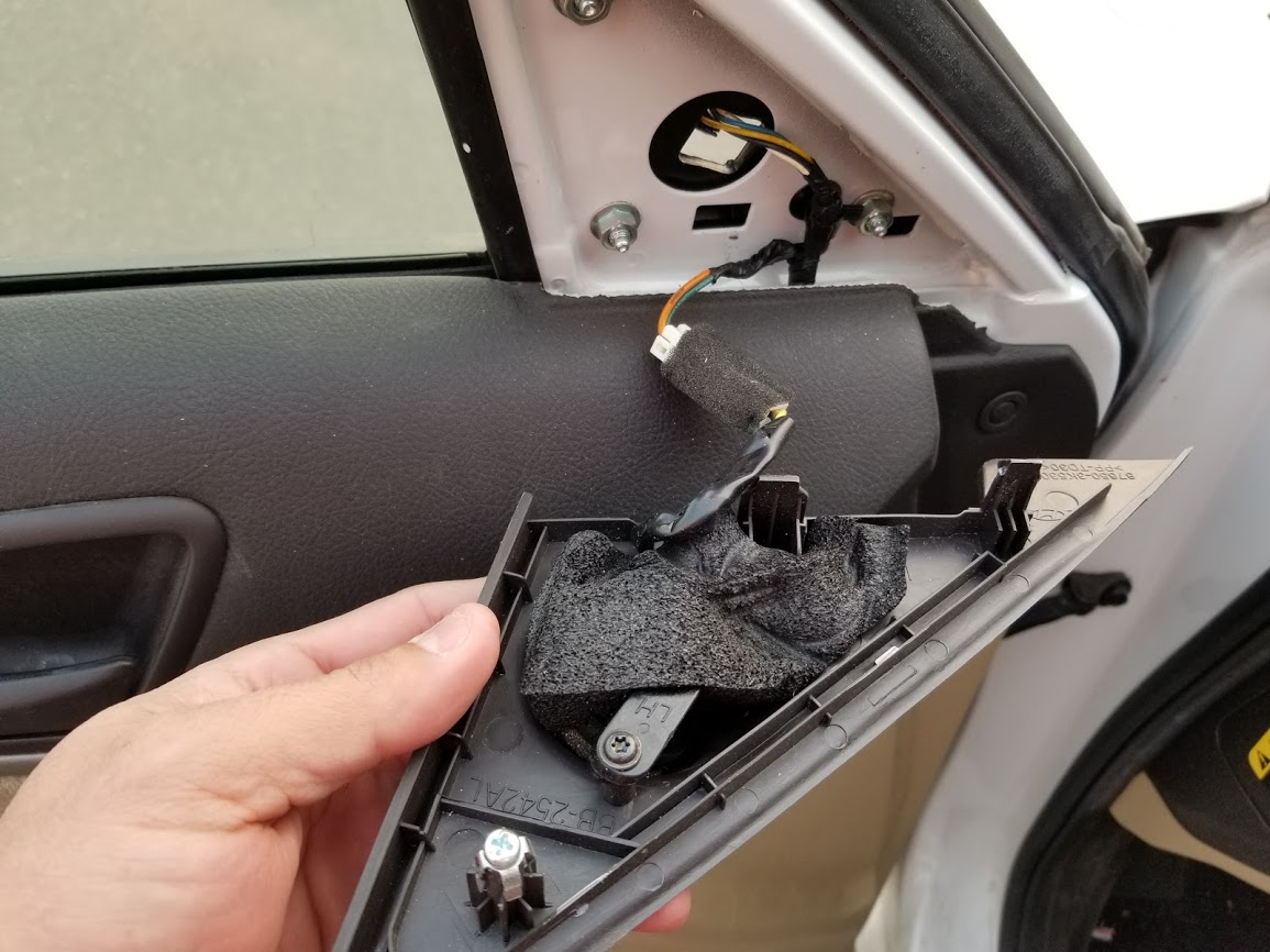 How To Replace Hyundai Elantra Side View Mirror My Pro