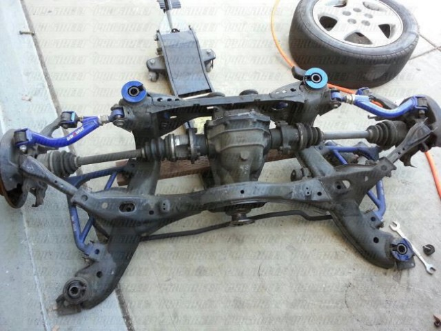 How To Install S14 Megan Subframe Bushings