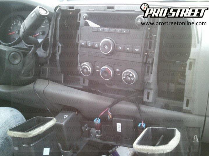 2005 Chevy Silverado Stereo Wiring Harness Diagram from my.prostreetonline.com