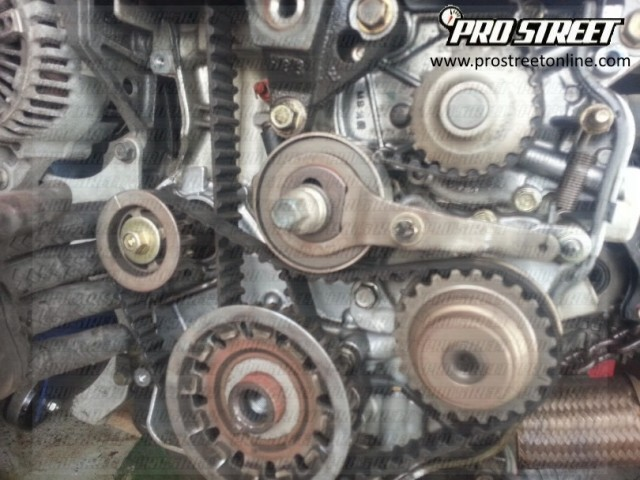 P How To Change A Honda Accord Crankshaft Position Sensor X on Honda Odyssey Timing Belt Diagram