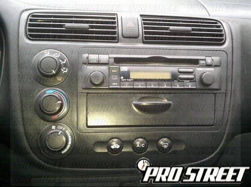 whether you are trying to reinstall your factory honda civic radio