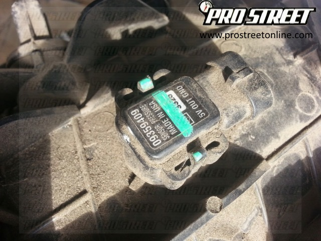 DTC P0106 - How To Change a Chevy Express MAP Sensor on